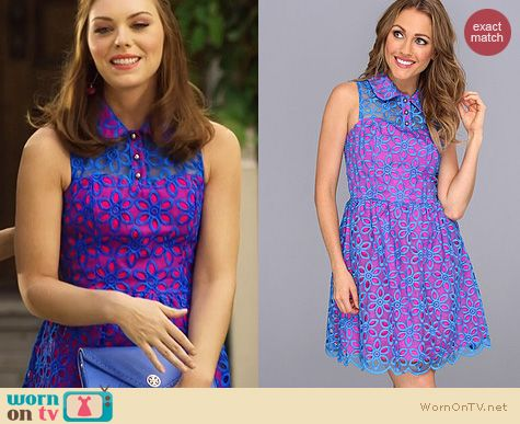 Hart of Dixie Fashion: Lilly Pulitzer Pemberton Dress worn by Kaitlyn Black