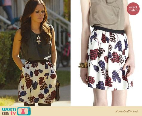 Hart of Dixie Fashion: Marc by Marc Jacobs Marie Tulip Skirt worn by Rachel Bilson