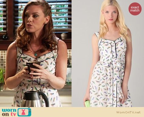 Hart of Dixie Fashion: Milly Parakeet dress worn by Kaitlyn Black