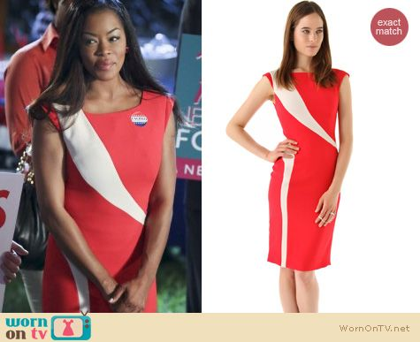 Hart of Dixie Fashion: Rachel Roy flame dress worn by Ruby