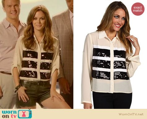 Hart of Dixie Fashion: Sachin + Babi London top worn by Rachel Bilson