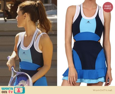 Hart of Dixie Fashion: Stella McCartney for Adidas Barricade Dress worn by Rachel Bilson