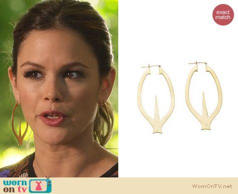 Hart of Dixie Jewelry: Jennifer Fisher Earrings worn by Rachel Bilson