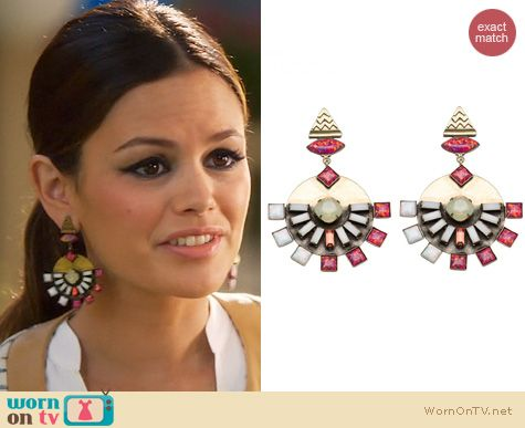 Hart of Dixie Jewelry: Lionette NY Dillen Earrings worn by Rachel Bilson