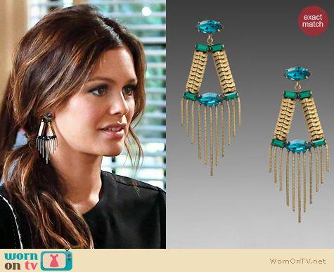 Hart of Dixie Jewelry: Lionette NY Greenwich Earrings worn by Rachel Bilson