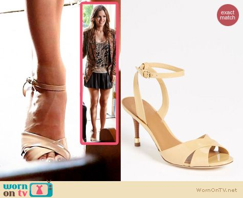 Hart of Dixie Shoes: Tory Burch Tania Sandals worn by Rachel Bilson