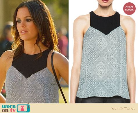 Hart of Dixie Fashion: ALC Myers top worn by Rachel Bilson