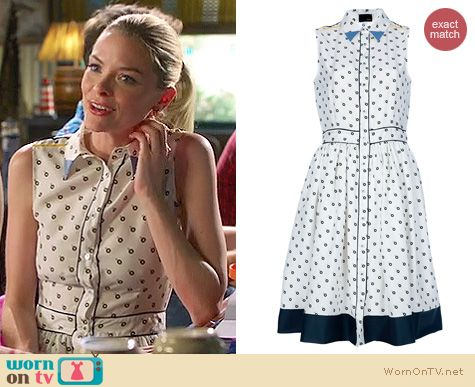 Hart of Dixie Style: Fendi printed shirt dress worn by Jaime King