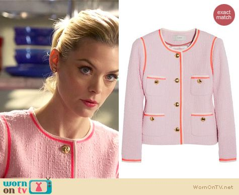 Hart of Dixie Style: J. Crew 'Amanda' tweed jacket worn by Jaime King