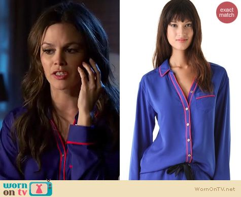 Hart of Dixie Fashion: Juicy Couture Poly Charm pajamas worn by Rachel Bilson