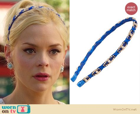 Hart of Dixie Style: Tasha Wrapped Up Winner Headband worn by Lemon Breeland