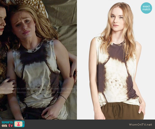 Haute Hippie X-Ray Muscle Tank worn by Rita Volk on Faking It