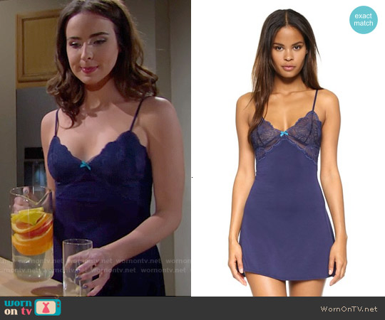 Heidi Klum Intimates Sabine Chemise worn by Ashleigh Brewer on The Bold & the Beautiful