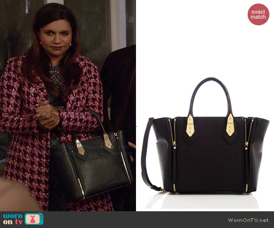 Henri Bendel A-List Satchel worn by Mindy Kaling on The Mindy Project
