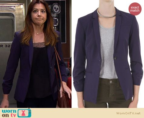 HIMYM Fashion: Elizabeth & James Jax Blazer worn by Alyson Hannigan