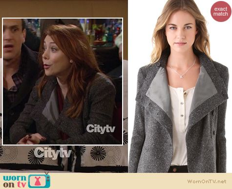 How I Met Your Mother Fashion: Elizabeth and James Victor Jacket worn by Alyson Hannigan
