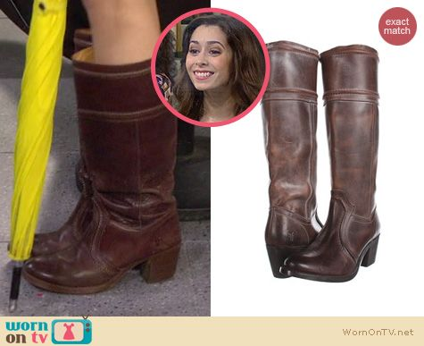 HIMYM Fashion: Frye Jane boots worn by Cristin Milioti