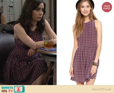 Fashion of HIMYM: Joie Bernadine Dress worn by Cristin Milioti