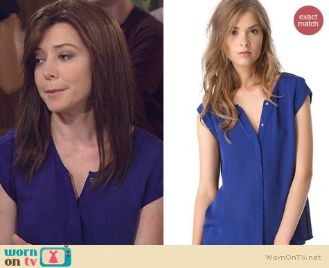 HIMYM Fashion: Joie Dimante top worn by Alyson Hannigan