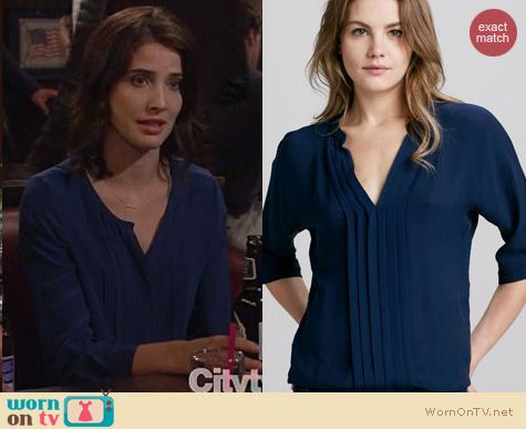 HIMYM Fashion: Joie Marru top worn by Cobie Smulders