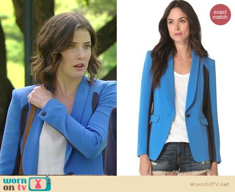 HIMYM Fashion: Rag & Bone Jefferson blazer worn by Cobie Smulders