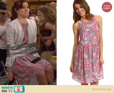 HIMYM Fashion: Rebecca Taylor Tropical Demi Femme Dress worn by Alyson Hannigan