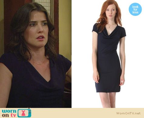 HIMYM Fashion: Robin's dress at the restaurant before the wedding