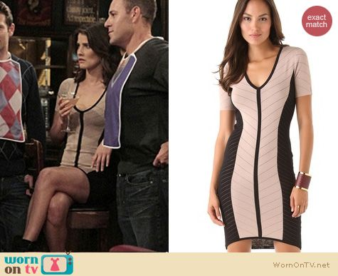 HIMYM Fashion: Torn by Robby Kobo Caterina dress worn by Cobie Smulders