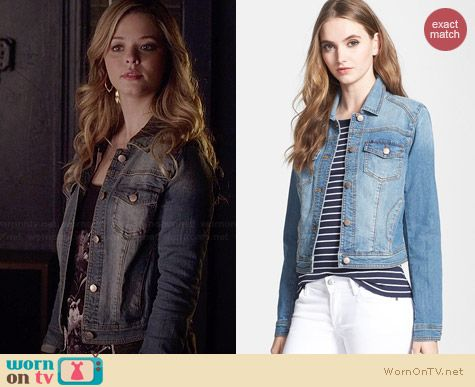 Hinge Denim Jacket worn by Sasha Pieterse on PLL