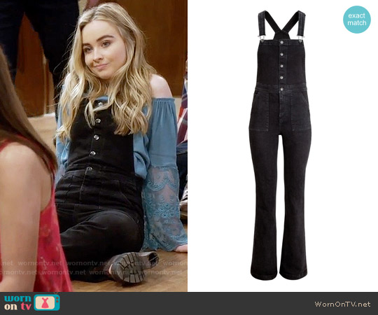 H&M Bib Overalls worn by Maya Hart on Girl Meets World