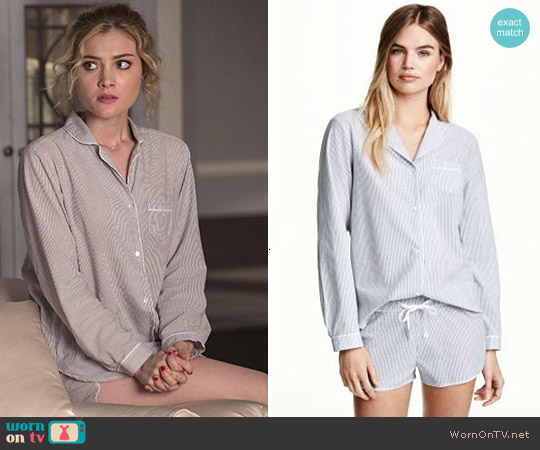 H&M 2-Piece Pajamas worn by Skyler Samuels on Scream Queens