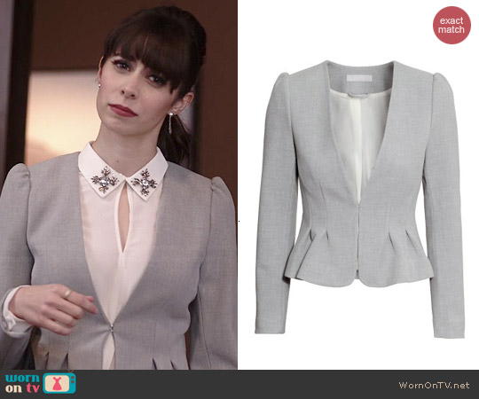 H&M Fitted Jacket worn by Cristin Milioti on A to Z