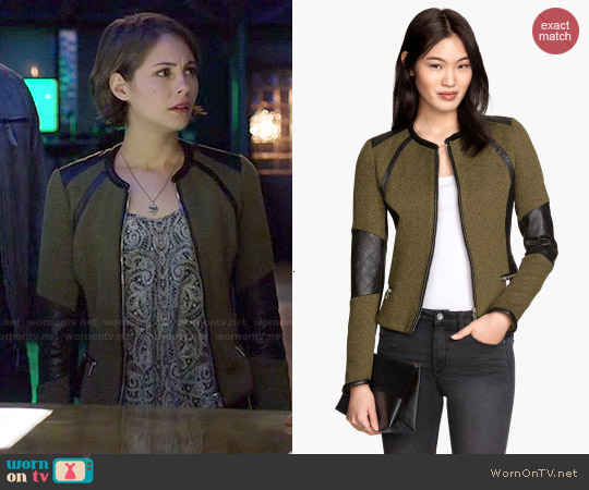 H&M Fitted Jacket worn by Willa Holland on Arrow