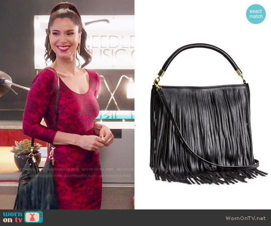 H&M Fringed Handbag worn by Carmen Luna on Devious Maids
