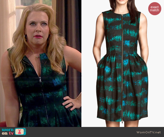 H&M Patterned Dress worn by Melissa Joan Hart on Melissa & Joey