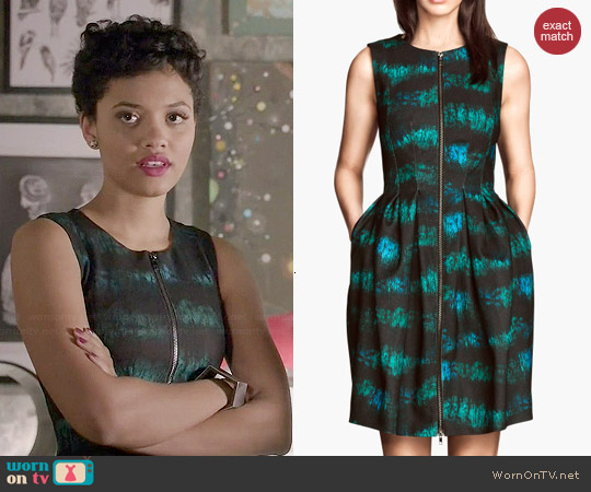 H&M Patterned Dress worn by Kiersey Clemons on Eye Candy