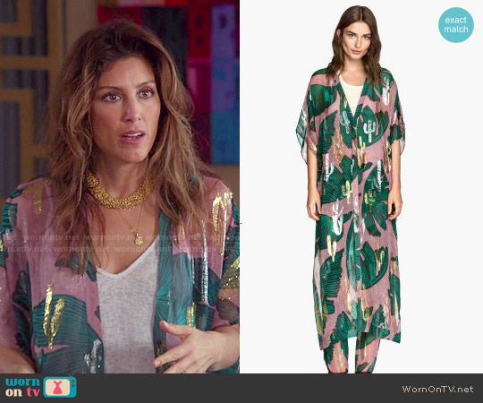 H&M Silk Kaftan worn by Jennifer Esposito on Mistresses