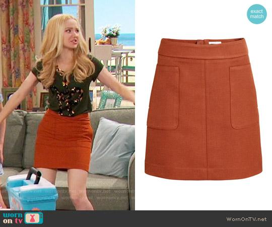 HM Short Skirt Worn By Liv Rooney On Maddie