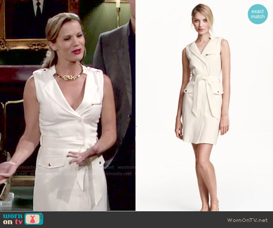 H&M Sleeveless Dress worn by Melissa Claire Egan on The Young & the Restless