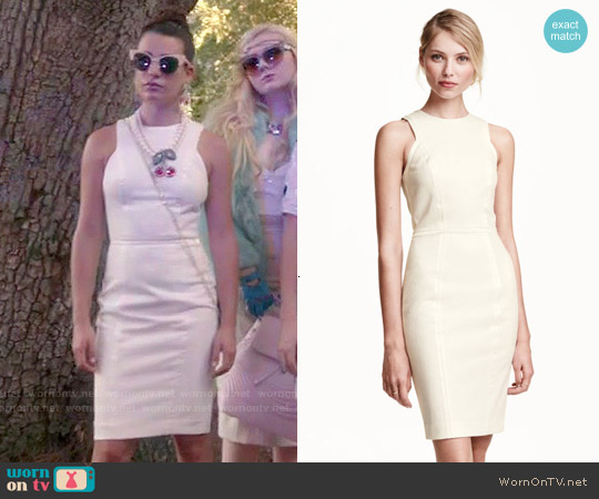 H&M Sleeveless Dress worn by Hester Ulrich on Scream Queens