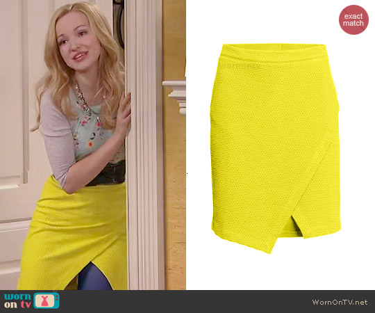 H&M Wrap Skirt worn by Dove Cameron on Liv & Maddie