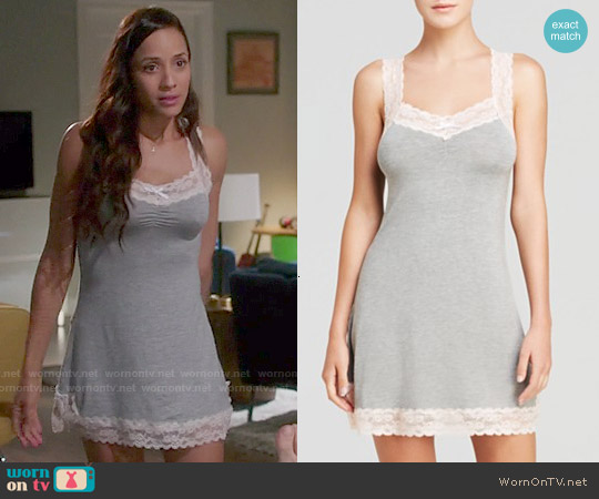 Honeydew Ahna Racerback Chemise worn by Dania Ramirez on Devious Maids