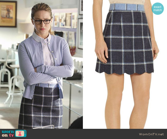 House of Holland Coco Skirt worn by Kara Danvers on Supergirl