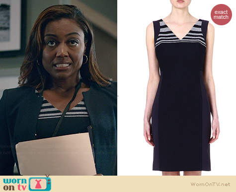 Hugo Boss Deverin Dress worn by Patina Miller on Madam Secretary