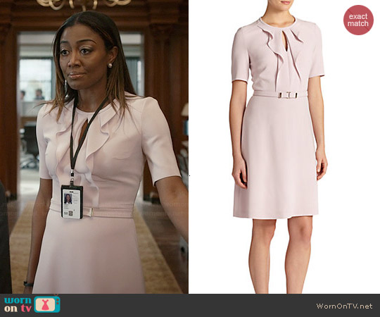 Hugo Boss Dilena Dress worn by Patina Miller on Madam Secretary