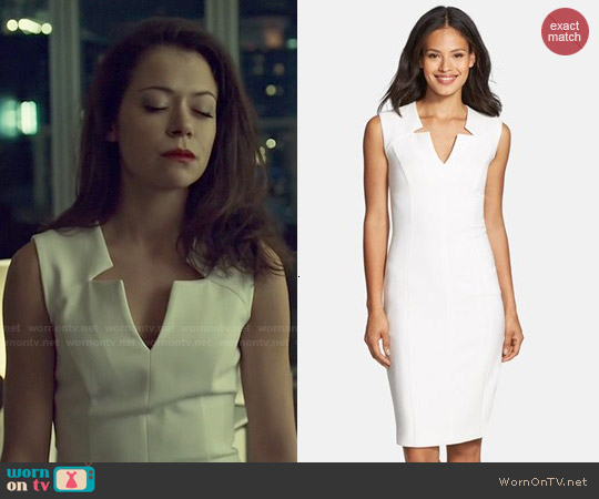 Hugo Boss Dimita Dress worn by Tatiana Maslany on Orphan Black