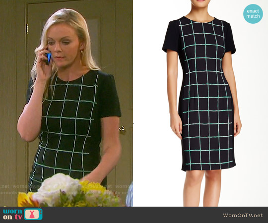 Hugo Boss Dokari Sheath worn by Martha Madison on Days of our Lives