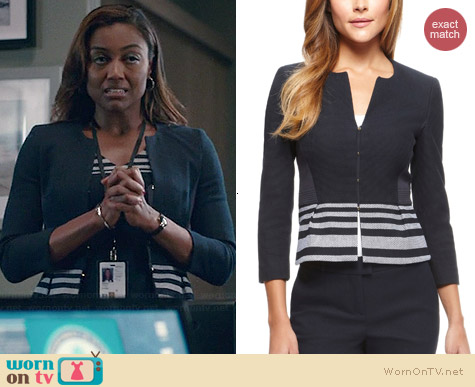 Hugo Boss Jeisina Jacket worn by Patina Miller on Madam Secretary