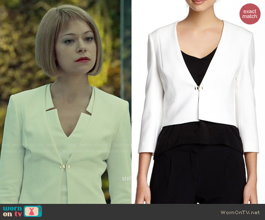 Hugo Boss Jiliava Cropped Blazer worn by Sarah Manning on Orphan Black