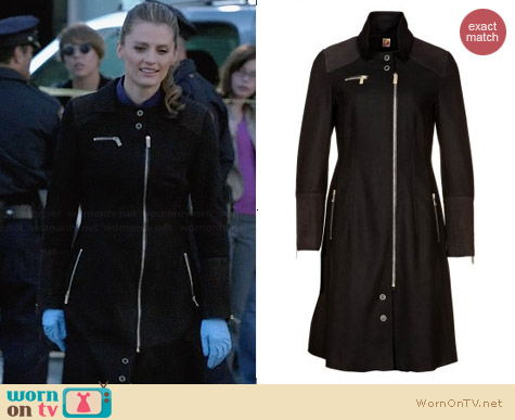 Boss Orange Oelli Coat worn by Stana Katic on Castle